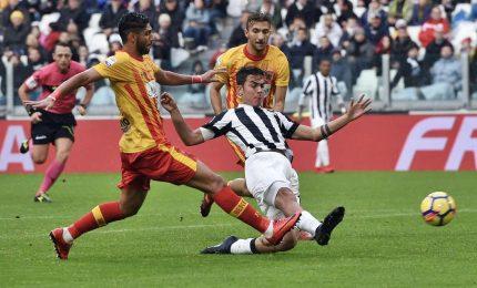 Benevento-Juventus 2-4, tripletta di Dybala