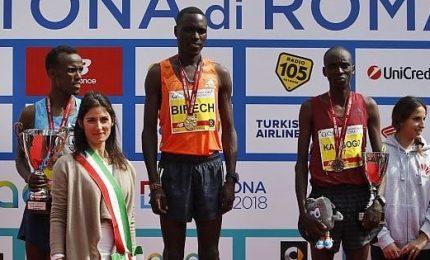 Maratona Roma, vincono Rhama Chota Tusa e Jairus Kipchoge Birech