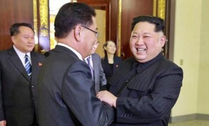 """Kim andra' a Seul. Trump: """"Abbiamo fatto molta strada"""""""