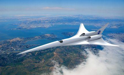 La Nasa ha svelato il progetto di un Jet supersonico silenzioso