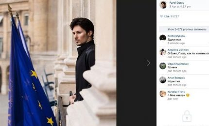 Mosca blocca Telegram. E Durov diventa l'anti Zuckerberg