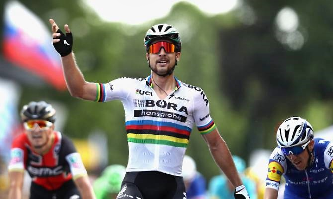 Parigi Roubaix, spettacolare vittoria di Sagan dopo 50 km di fuga