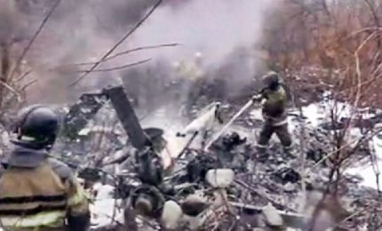 Russia, precipita un elicottero civile: sei le vittime