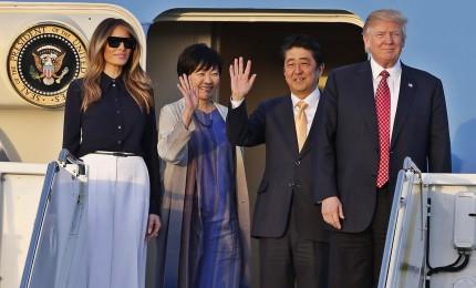 Abe incontra Trump, sul tavolo commercio e rapimenti giapponesi