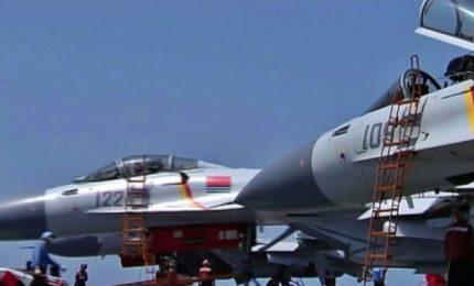 Cina conduce manovre navali, sale la tensione con Taiwan