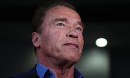 Arnold Schwarzenegger è tornato a casa