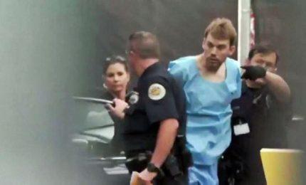 Nel video l'arresto dell'autore della strage a Nashville