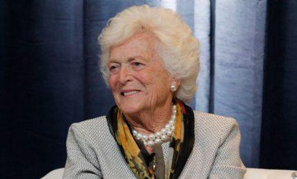 Usa, paura per la salute dell'ex first lady Barbara Bush