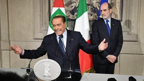 Berlusconi rassicura Salvini, no governo con il Partito Democratico