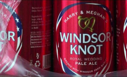 """Harry e Meghan sposi"", la birra di Windsor arriva nei pub"