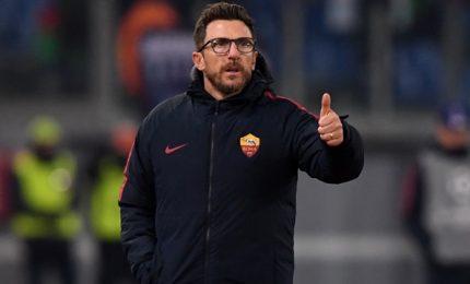 """La Roma si rituffa nel campionato. Di Francesco: """"Voglio coraggio"""""""