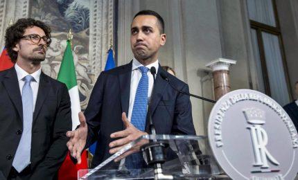"""Di Maio: """"Indicato Conte come premier a Mattarella, nasce la Terza Repubblica"""""""