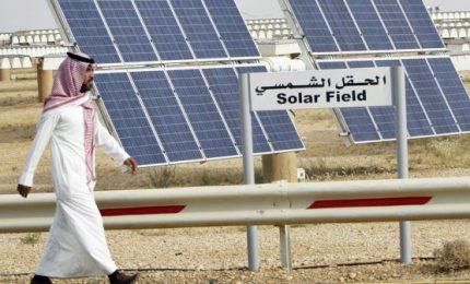 L'Arabia Saudita investe in energia solare, progetto da 200 miliardi Usd