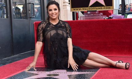 Una stella sulla Walk of Fame di Hollywood per Eva Longoria
