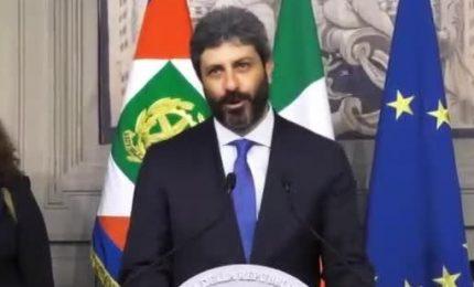 Consultazioni, terminato il colloquio Mattarella-Fico