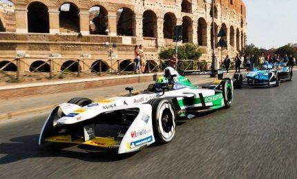 Roma si prepara alla gara delle monoposto elettriche