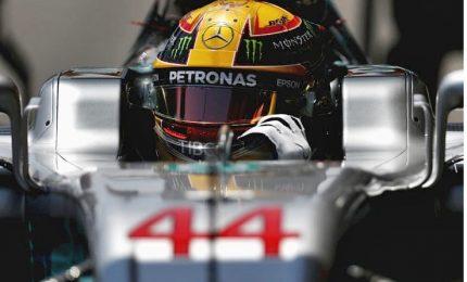 Hamilton il più veloce nelle seconde libere