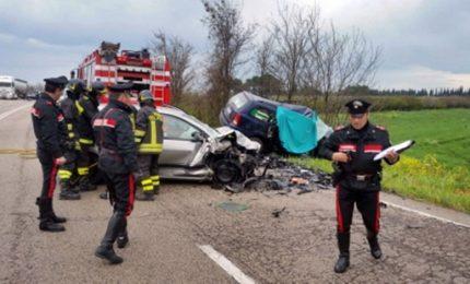 Scontro frontale sulla Tangenziale di Foggia, 3 morti