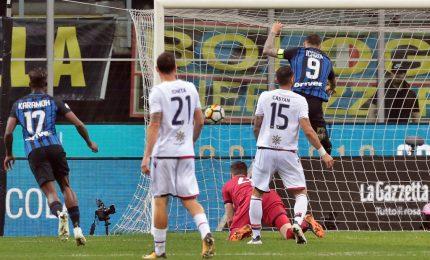 """Inter-Cagliari, 4-0, Spalletti: """"La squadra mi è piaciuta"""""""