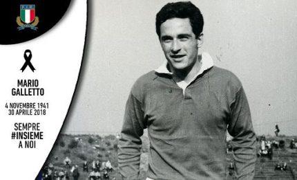 Rugby, morto a Milano Mario Galletto. Aveva 76 anni