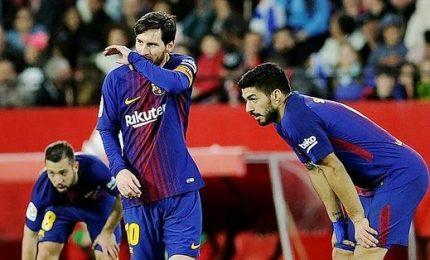 Troppo Barça per la Roma, 4-1. Ora serve un miracolo