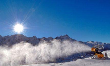 Inquinamento ambientale, nel 2100 niente sci sotto i 1500 metri