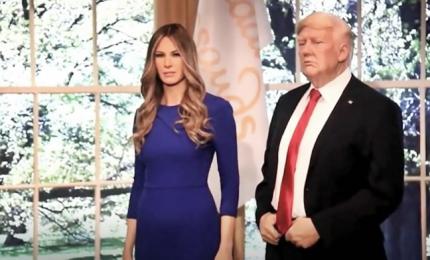Melania Trump di cera, esposta al Madame Tussauds di New York
