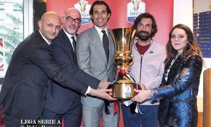"""Pirlo in viaggio con la Coppa Italia: """"Contatti con la Nazionale"""""""