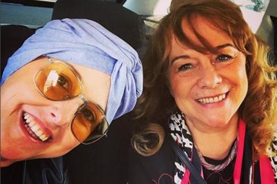 Nadia Toffa su Instagram senza la parrucca