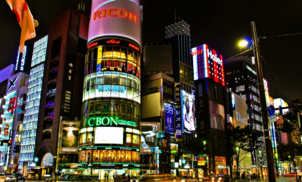 Tokyo di notte, the city that never sleeps