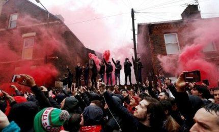 Ultrà della Roma a Liverpool, polizia italiana identifica i due tifosi