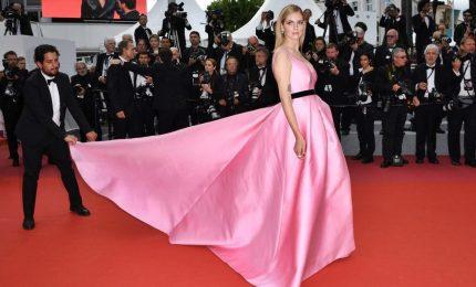 Chiara Ferragni sul red carpet di Cannes, al Festival con Fedez