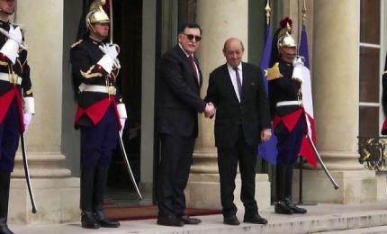 Libia, al Sarraj e Haftar riuniti all'Eliseo con Macron