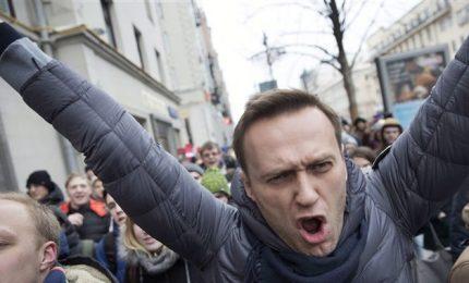 Arrestato di nuovo Navalny, avversario del Cremlino