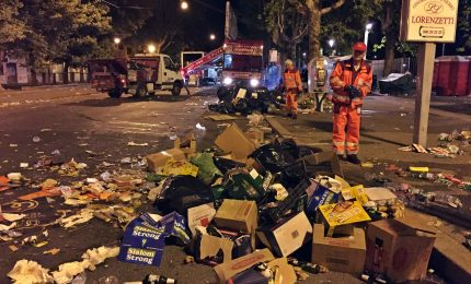 Concerto 1° maggio Roma, raccolte 35 tonnellate di rifiuti