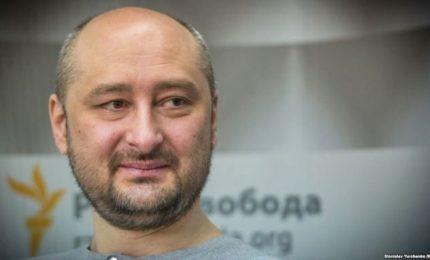 Kiev, arrestato uomo che preparava omicidio Babchenko. Il reporter è vivo