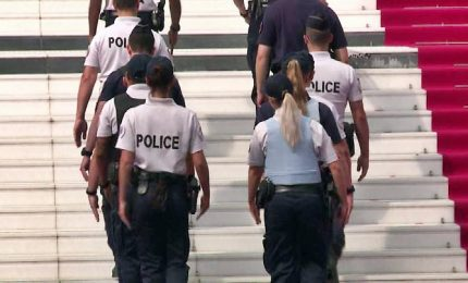 Cannes, prove generali tra ingenti misure di sicurezza