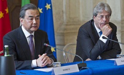 Cina, Via della Seta a rischio per l'Italia