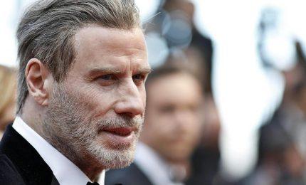 "John Travolta a Cannes, festa in spiaggia per 40anni di ""Grease"""