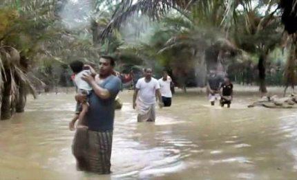 Maltempo in Yemen, sette dispersi per ciclone Mekunu