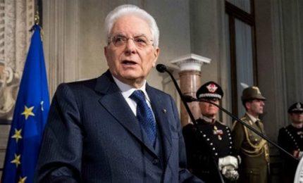 Mattarella, no a tensioni nella maggioranza. Io arbitro