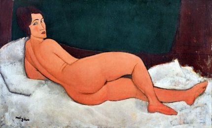 """Modigliani da record, """"Nudo sdraiato"""" venduto a 157,2 milioni di dollari"""
