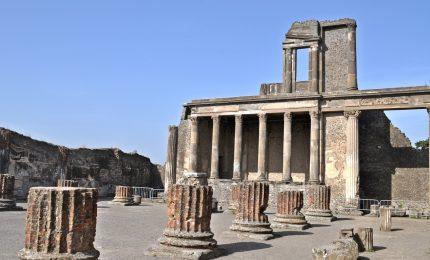 A Pompei scoperta nuova villa suburbana e tomba del 79 d.C.