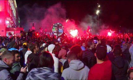 Olympique Marseille in finale Europa League, gioia dei tifosi