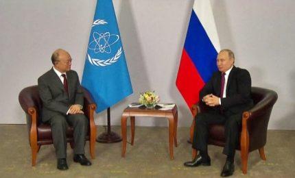 Putin all'Aiea: Russia rispetta obblighi su sviluppo nucleare