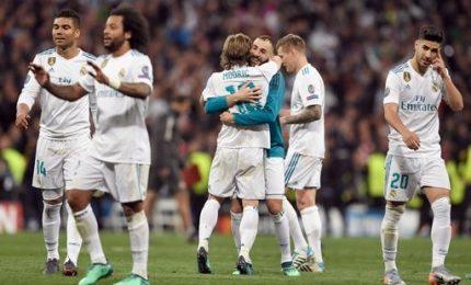 """Real-Bayern 2-2, Zidane: """"Abbiamo sofferto, ora la finale"""""""