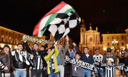 Festa a Torino per il settimo scudetto di fila della Juventus