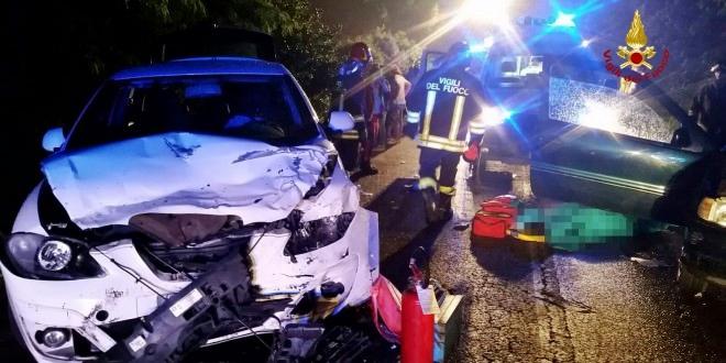 Due gravi incidenti stradali in Veneto: morte 2 donne, 7 feriti