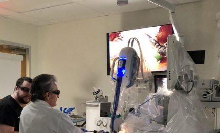 A Molinette di Torino prima asportazione tumore esofago con robot