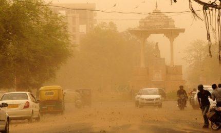 India, tempeste di sabbia: almeno 143 morti